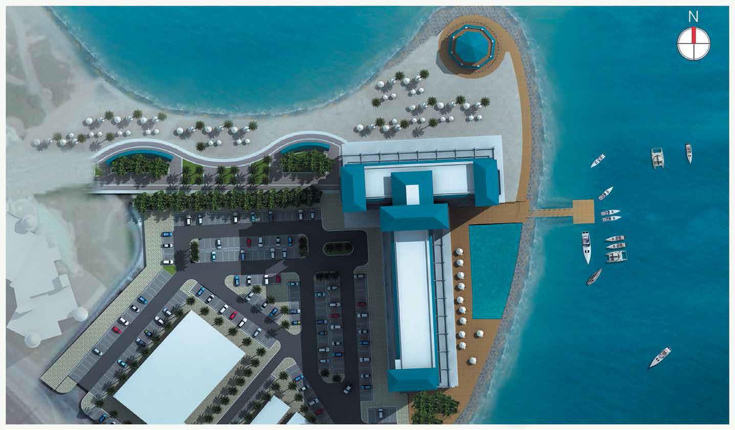 Azure-Residence-Palm-Jumeirah Master Plan