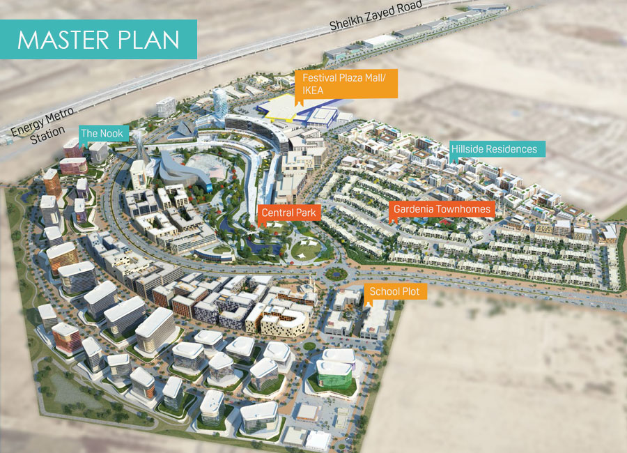 The-Nook-at-Wasl-Gate Master Plan