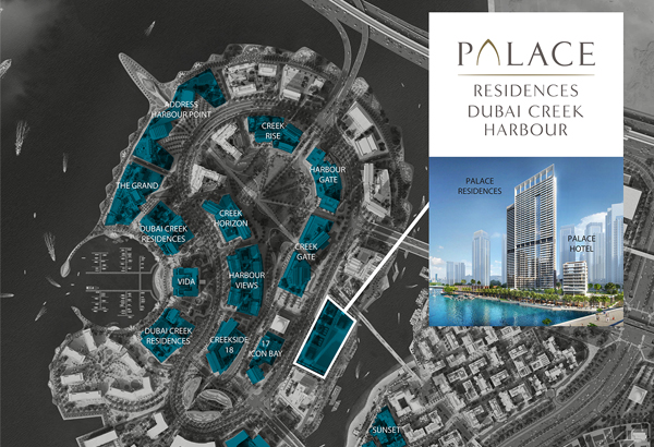 Emaar-Palace-Residences Master Plan