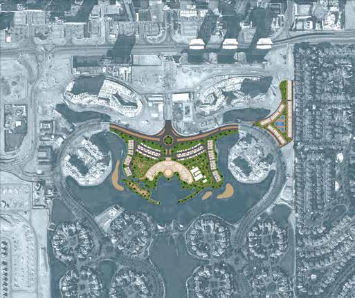 Jumeirah-Islands-Townhouses Master Plan