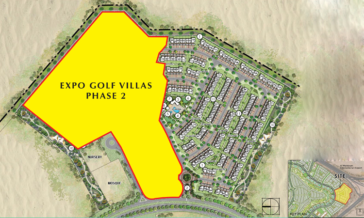 Expo-Golf-Villas-Phase-II Master Plan