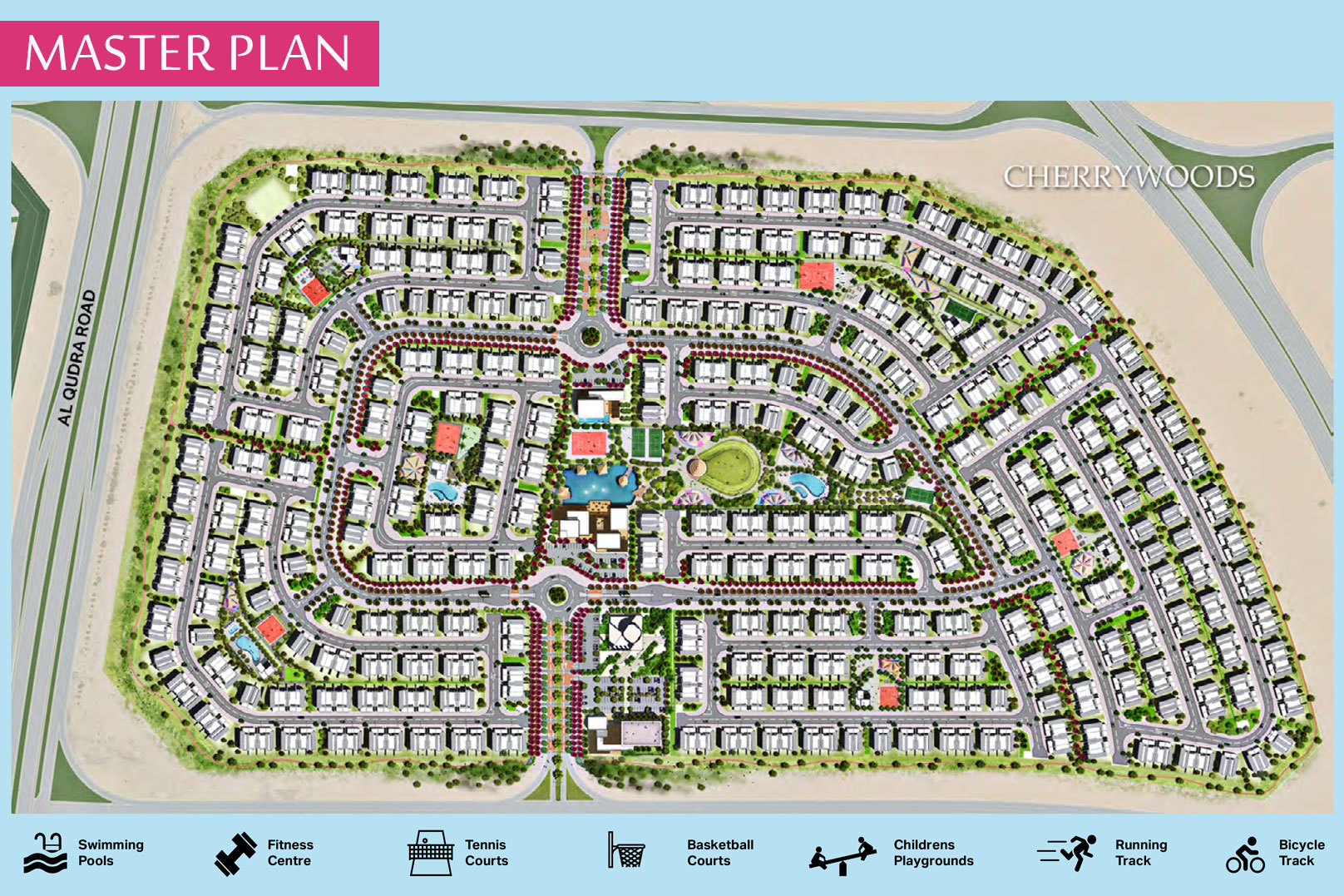 Cherrywoods-Townhouses Master Plan