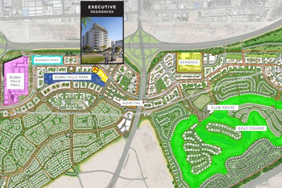 Emaar-Executive-Residences Master Plan