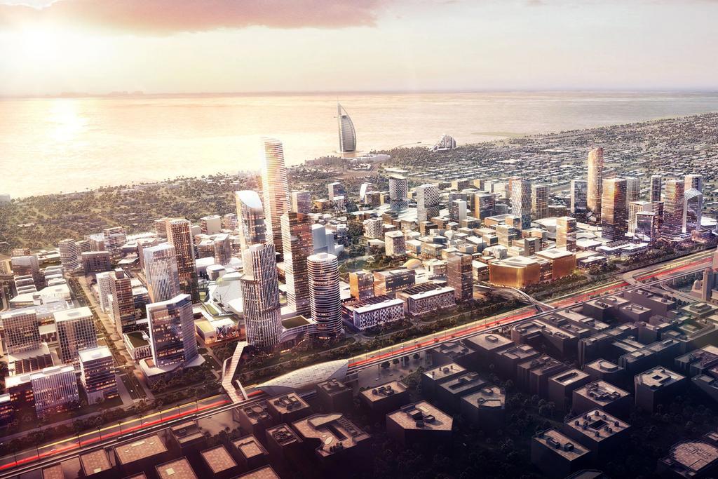 Burj-Jumeira-Tower Master Plan