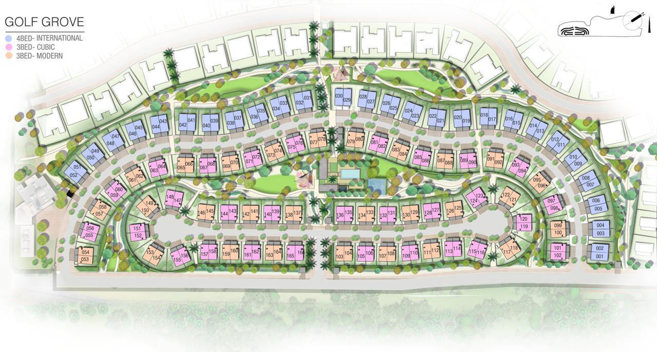 Golf-Grove-Villas Master Plan
