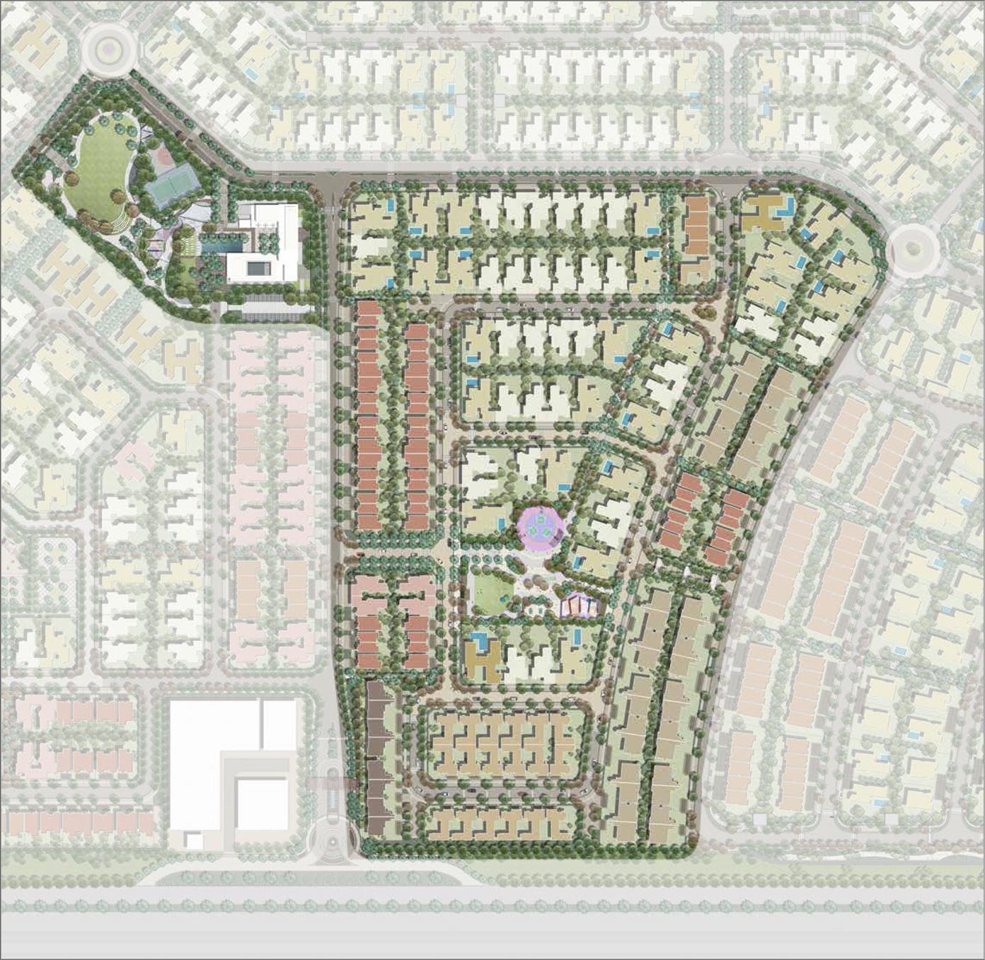 Al-Yasmeen-Al-Zahia-Sharjah Master Plan