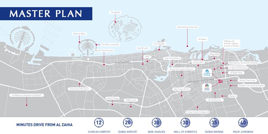 Zohour 1 Uptown -  Master Plan