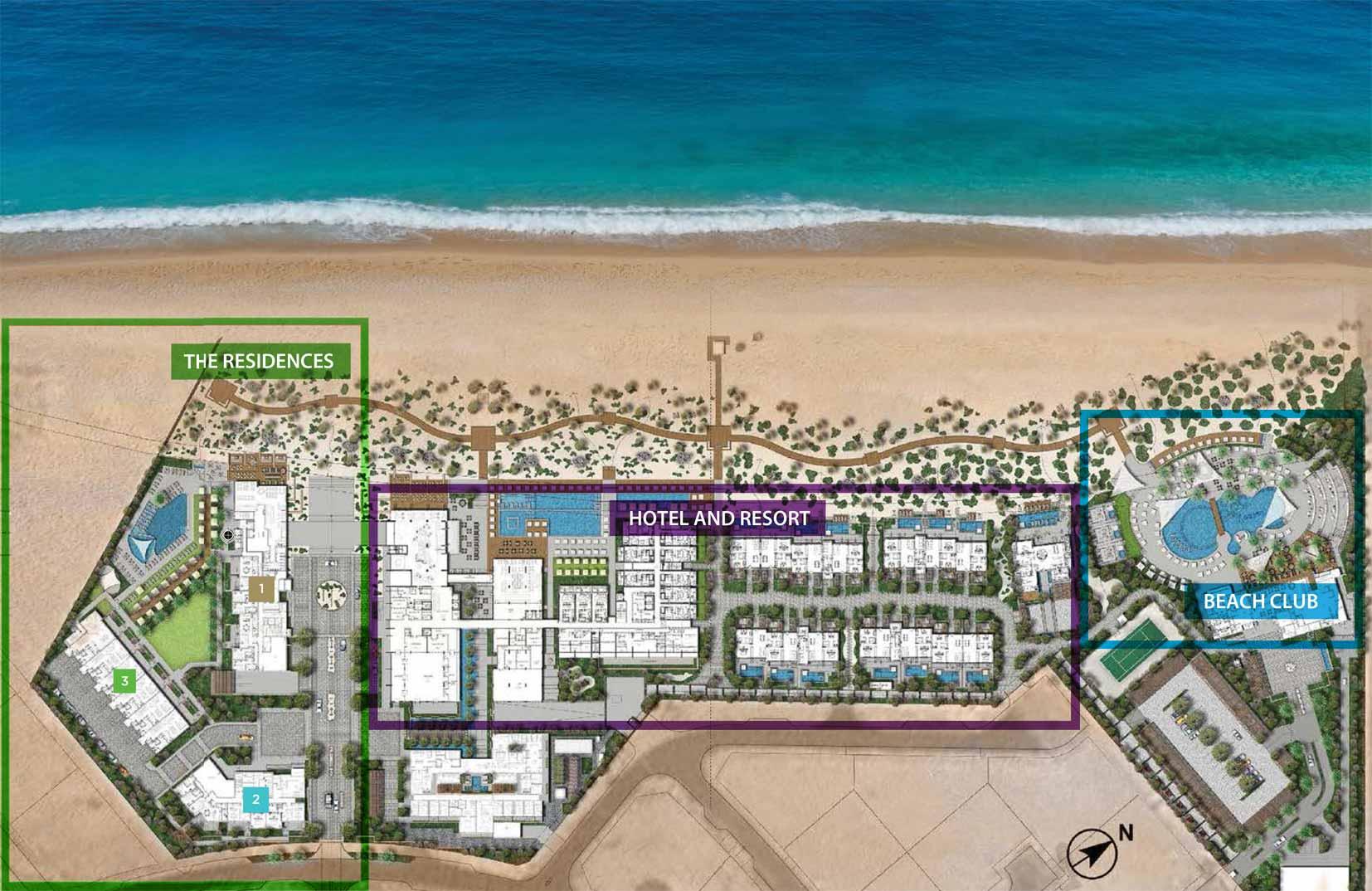 Nikki-Beach-Residences Master Plan