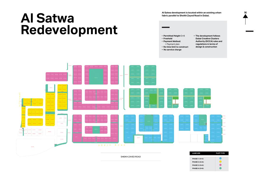 Al-Satwa Master Plan