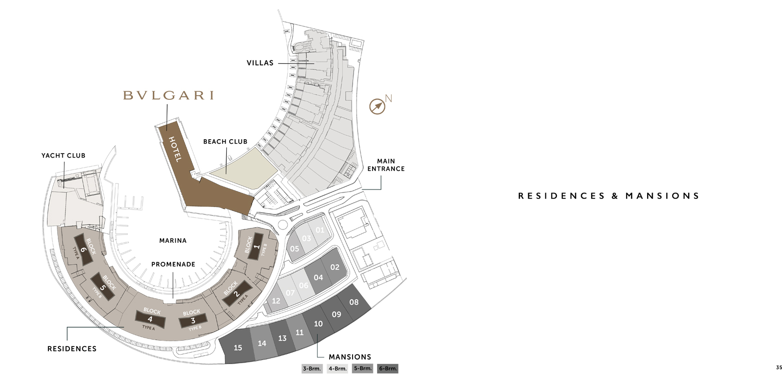 Bvlgari-Resort-Residences Master Plan