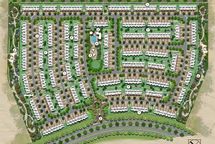 Emaar-Expo-Golf-Apartments Master Plan