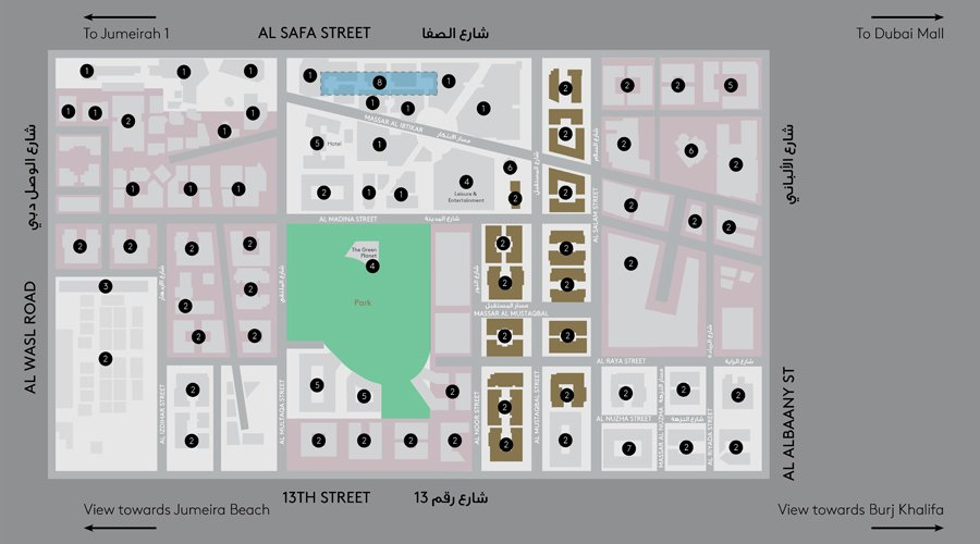 Central-Park-Building-1 Master Plan