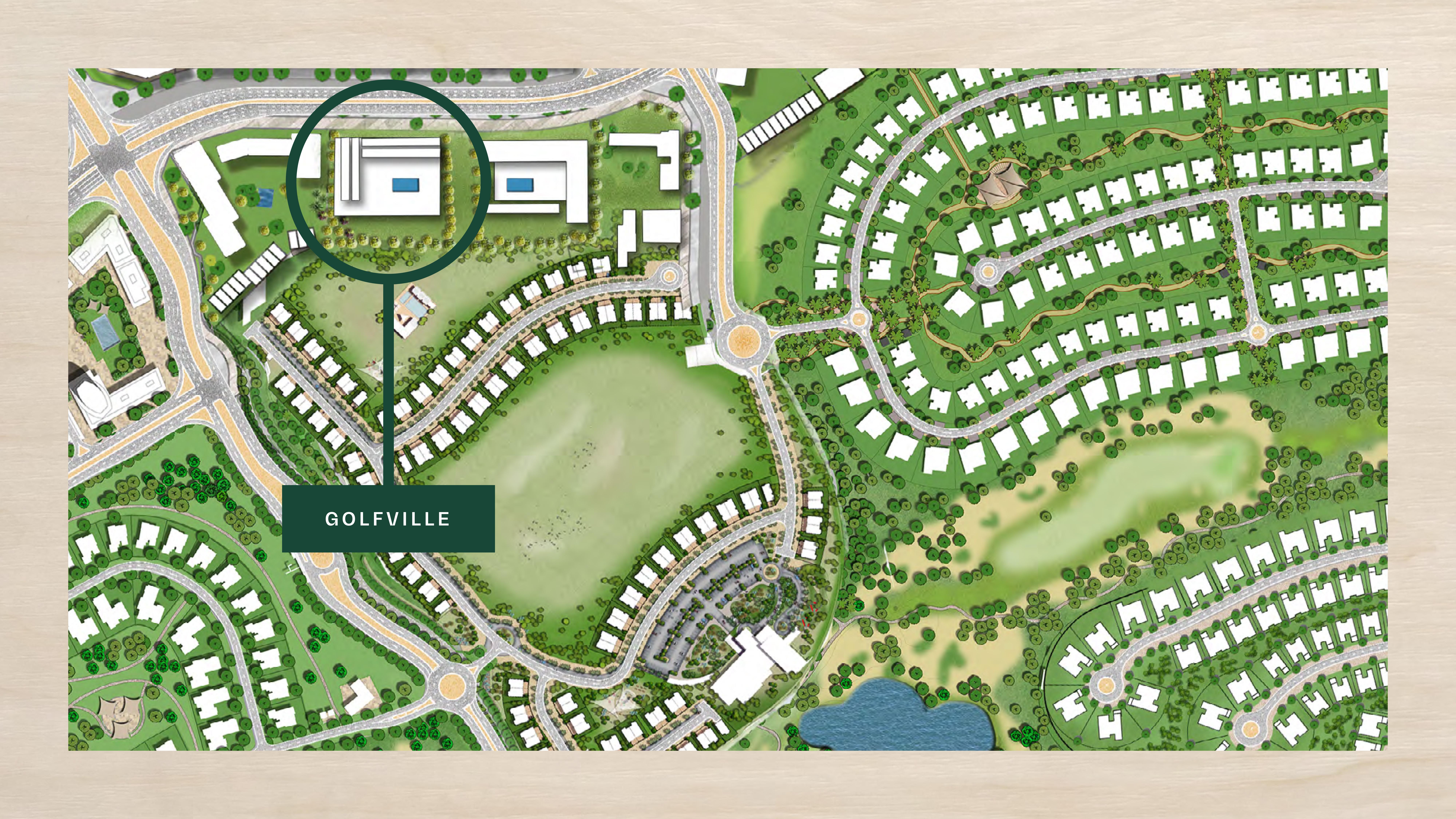 Emaar-Golfville-Apartments Master Plan