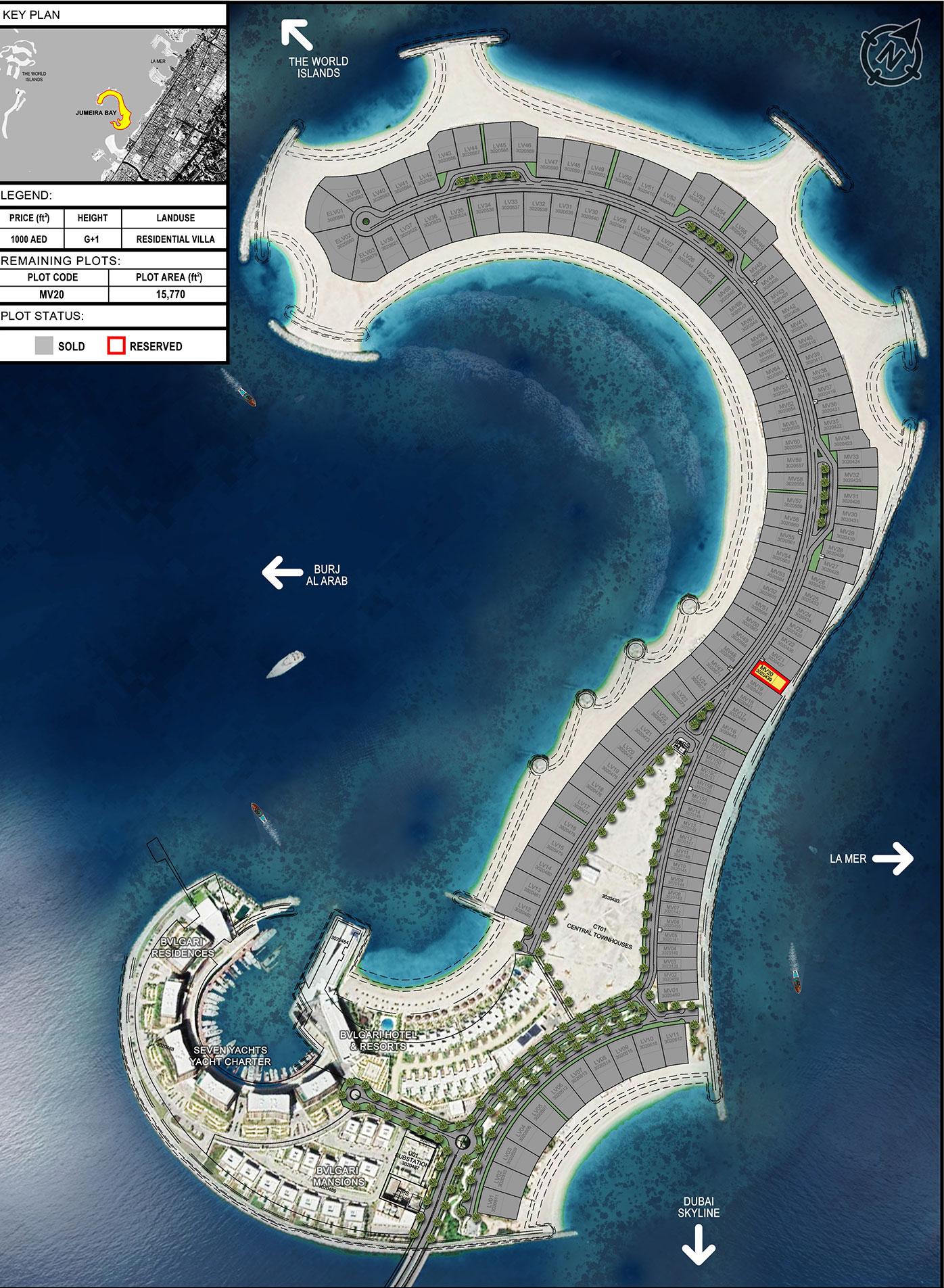 Meraas-Jumeira-Bay-Plots Master Plan