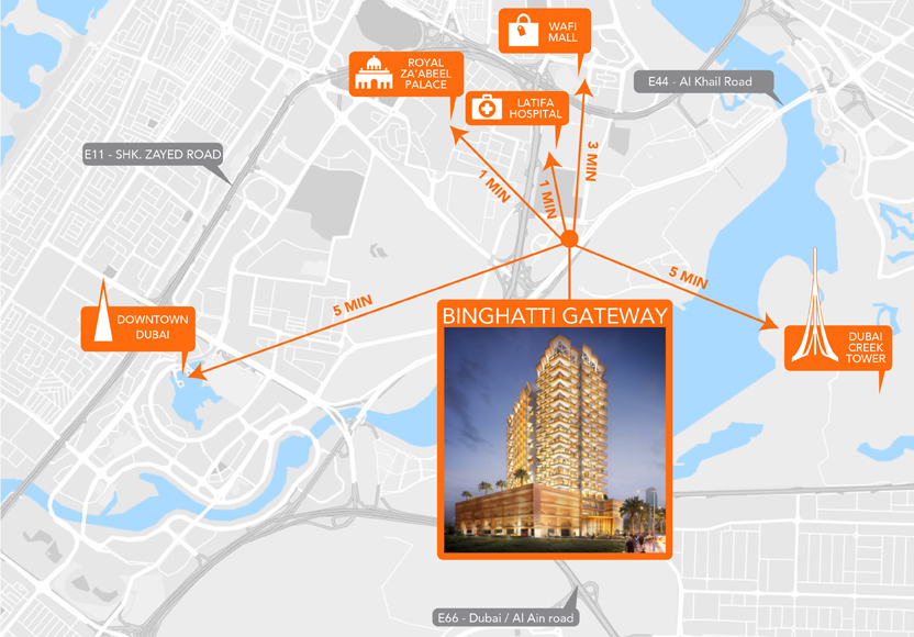 Binghatti-Gateway Master Plan