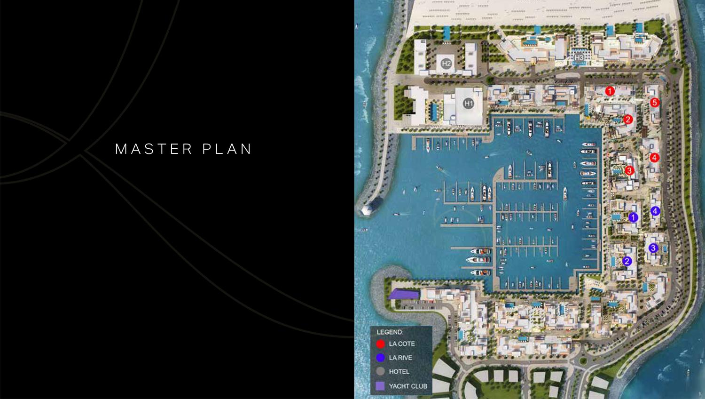 La Rive Building 3 -  Master Plan