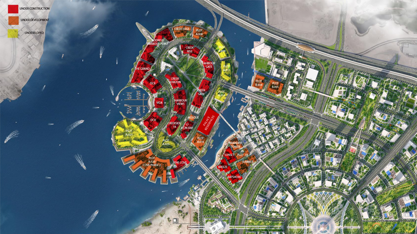 Creek-Edge-Waterfront-Villas Master Plan