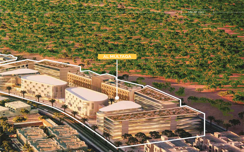Al-Multaqa-Avenue Master Plan