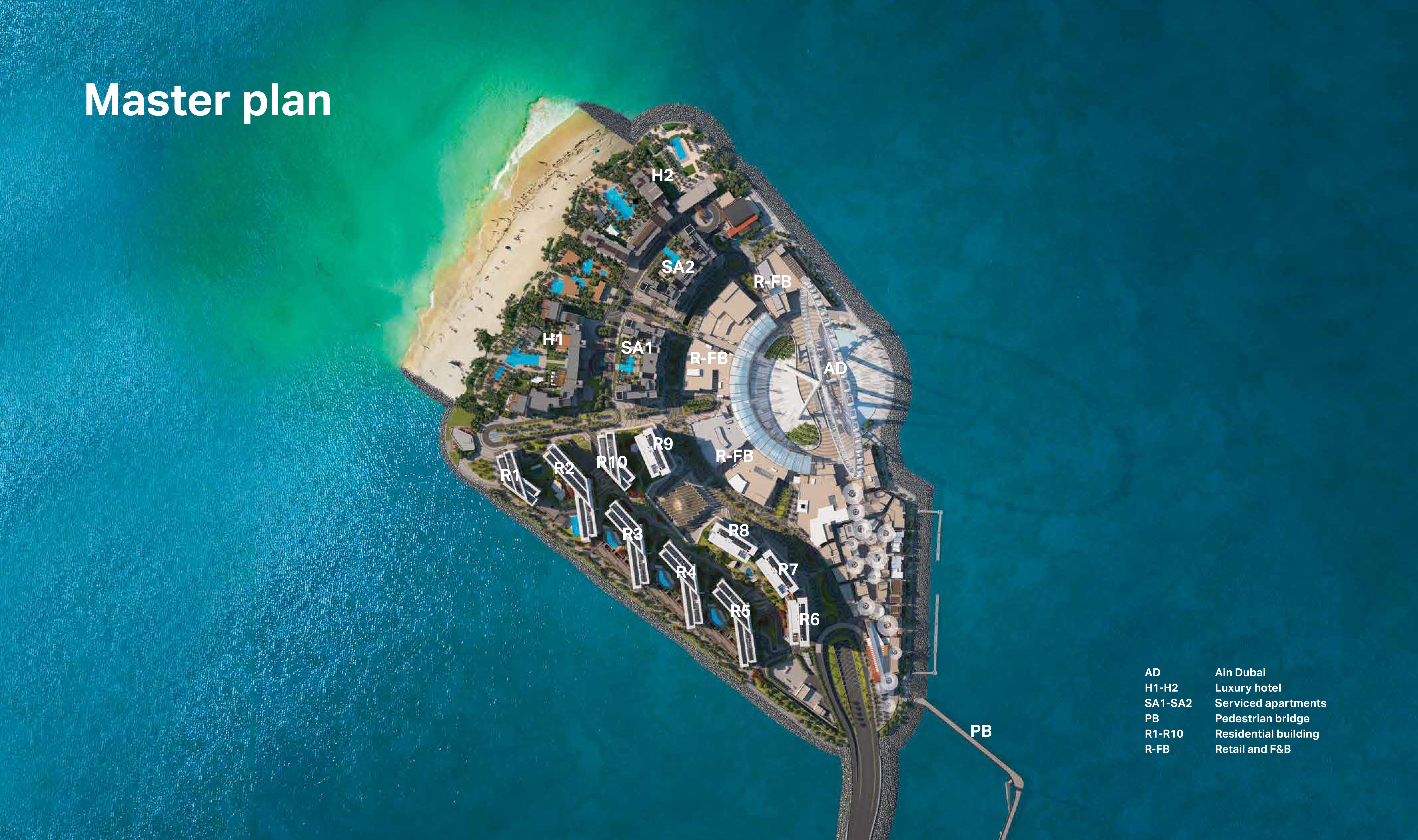 Meraas Bluewaters Building 9 -  Master Plan