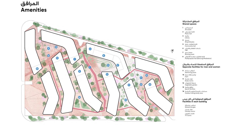 Nest 8 at Aljada -  Master Plan