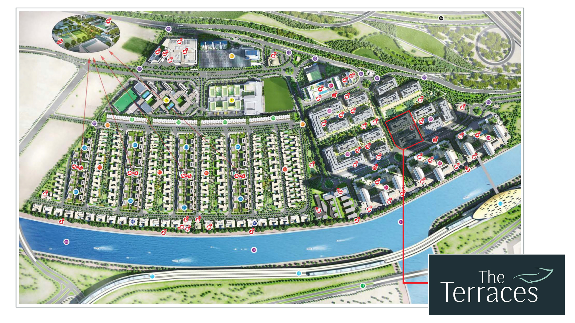 The-Terraces Master Plan