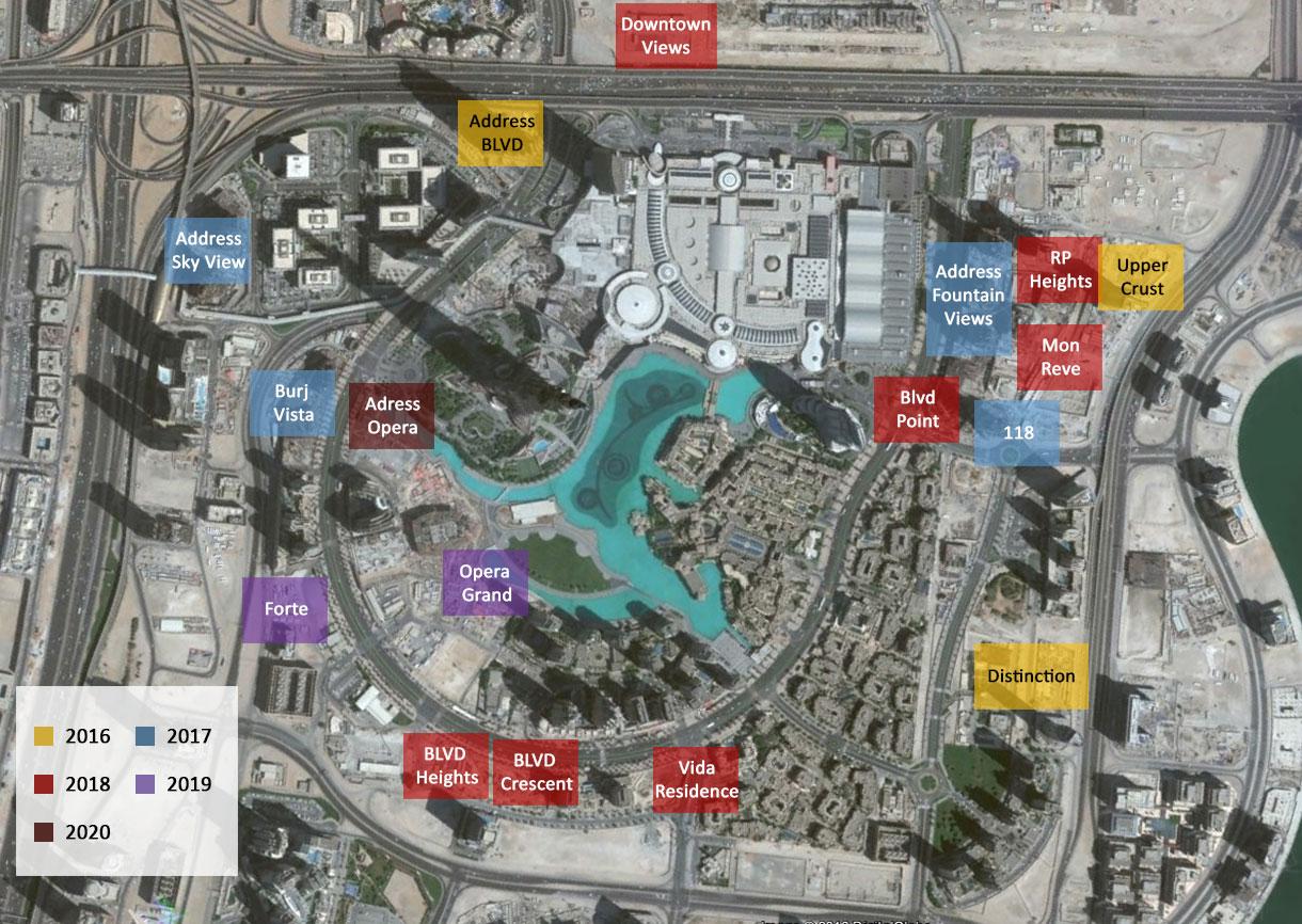 The-Address-Dubai-Mall Master Plan