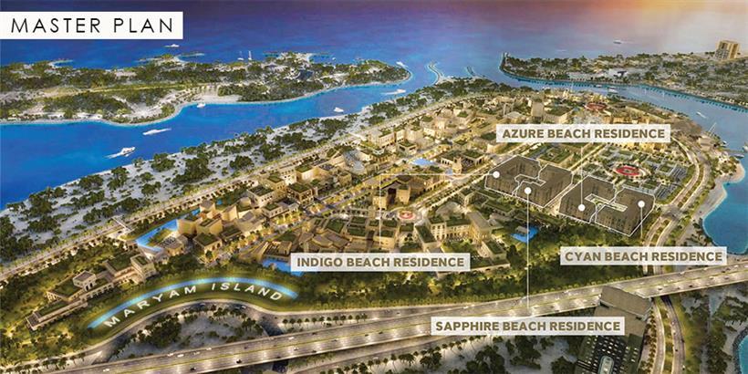 Cyan-Beach-Residence Master Plan