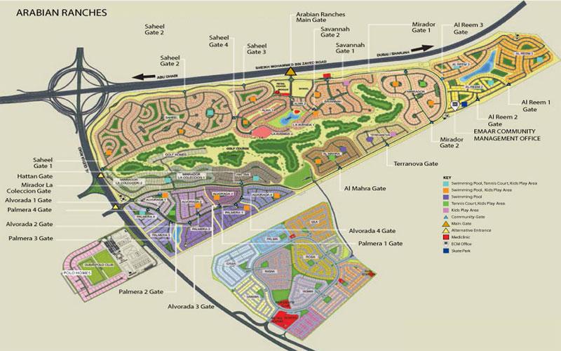 Aseel-at-Arabian-Ranches Master Plan