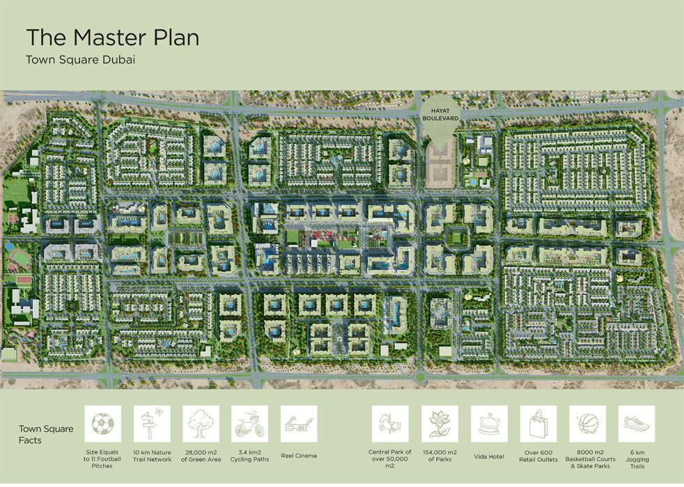 Hayat-Boulevard Master Plan