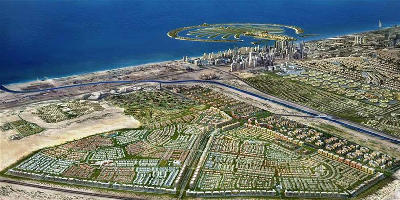 Al-Burooj-Residence-3 Master Plan