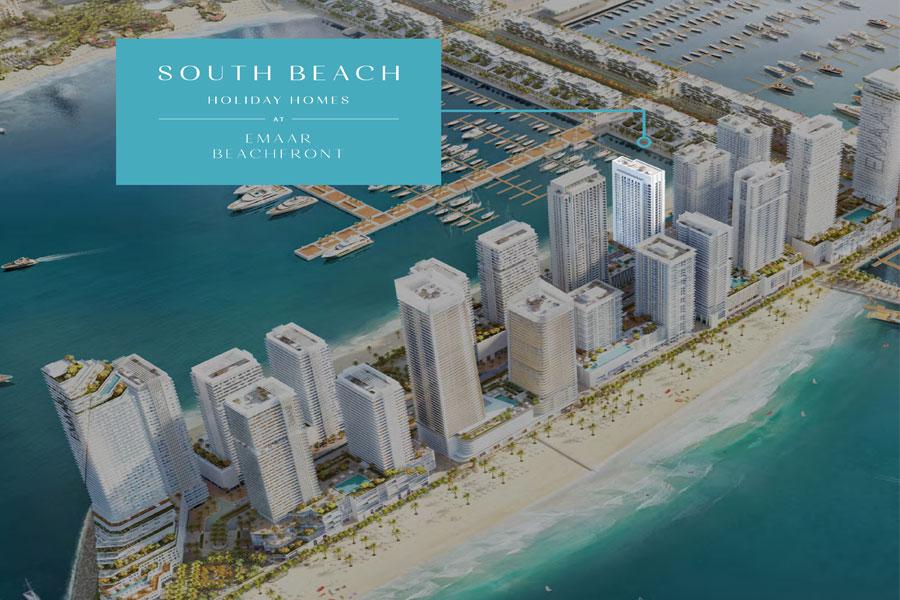 Emaar-Beachfront-Holiday-Home Master Plan