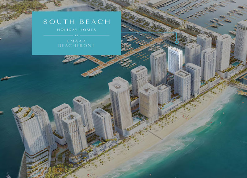 South-Beach-Holiday-Homes Master Plan