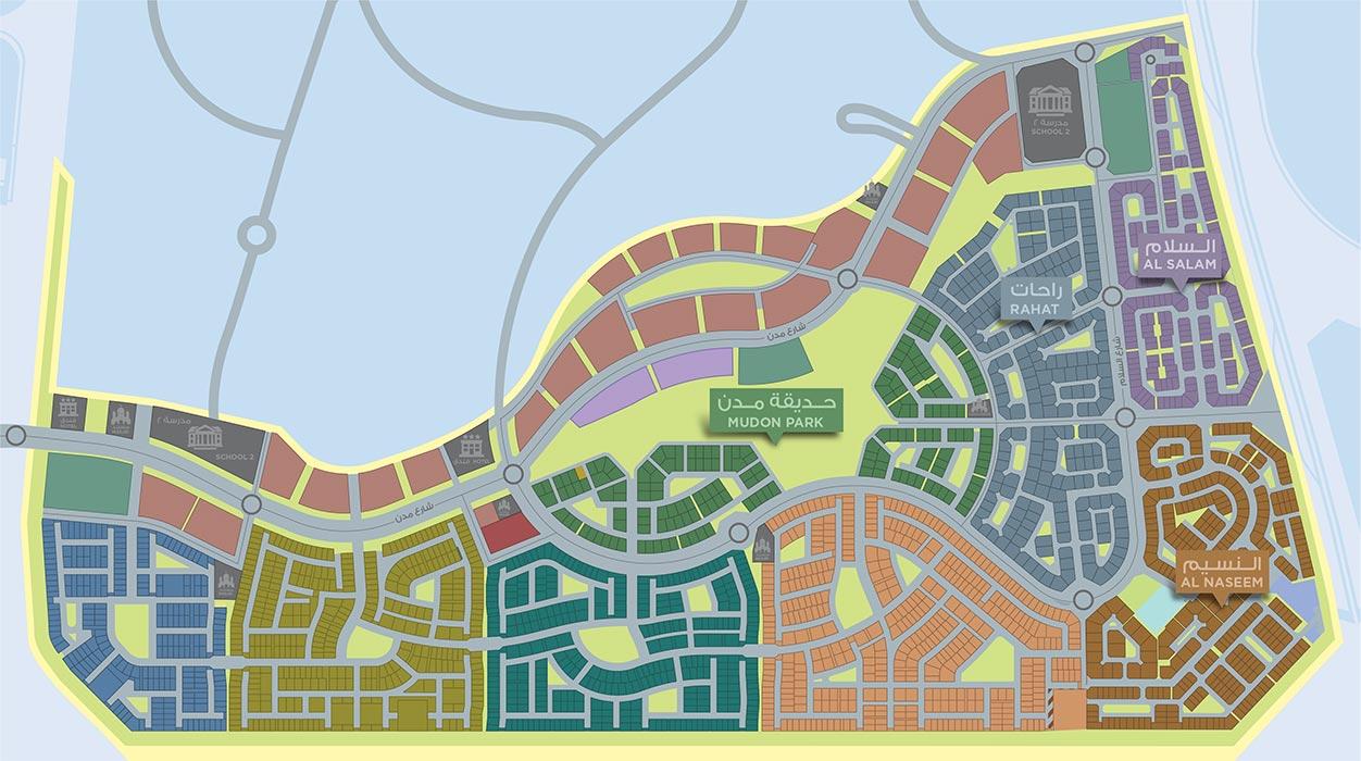 Mudon-Views-Apartments Master Plan