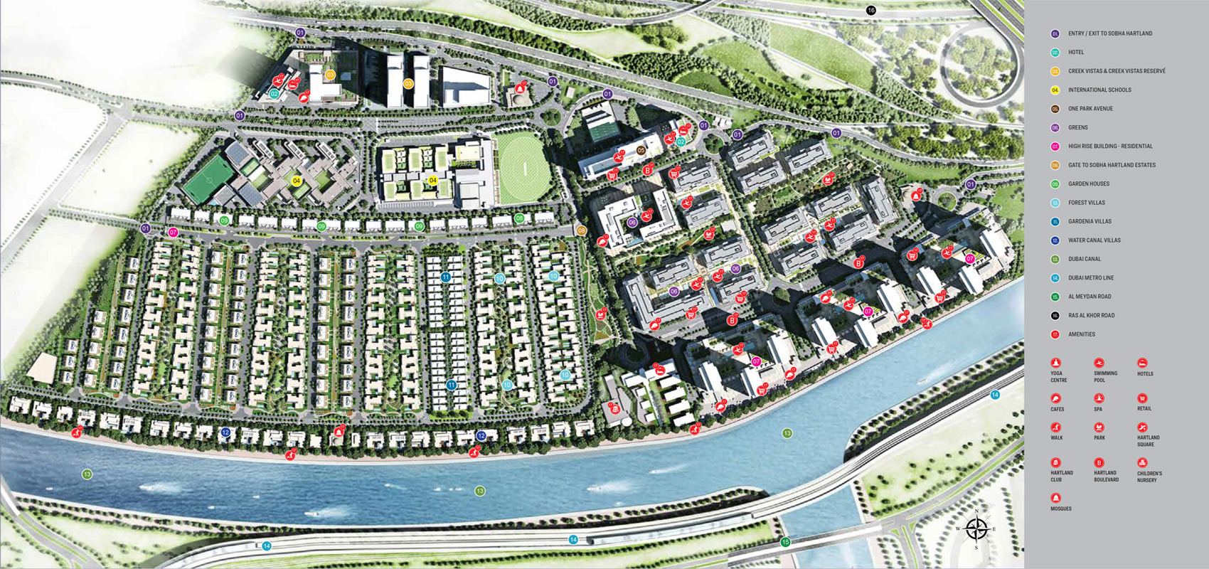 Sobha-Creek-Vistas-Reserve Master Plan