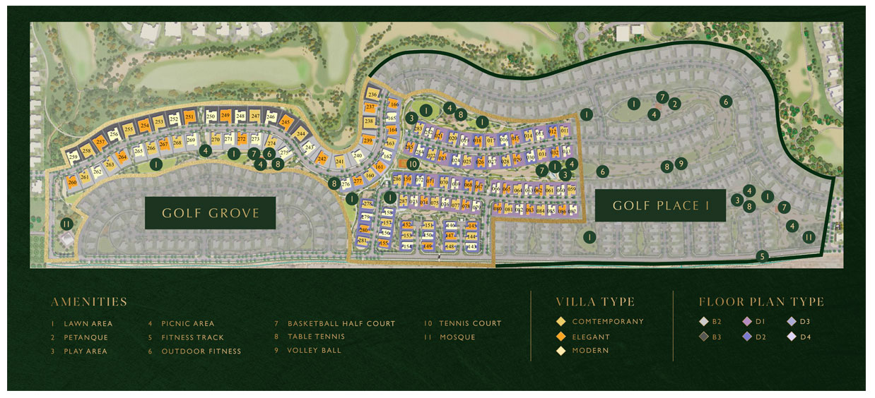 Golf-Place-Phase-2 Master Plan