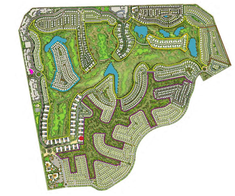 Loreto-at-Damac-Hills Master Plan
