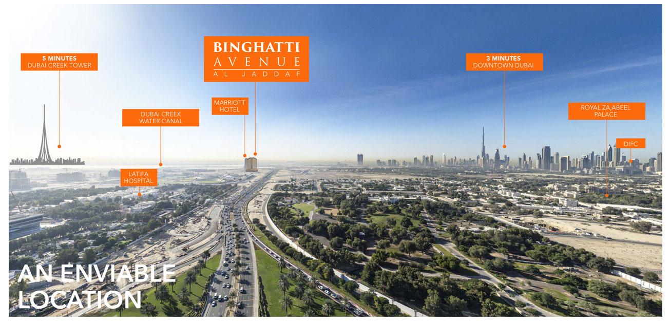 Binghatti-Avenue Master Plan