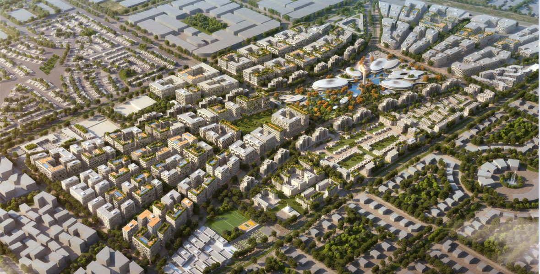 The-Boulevard-at-Aljada Master Plan