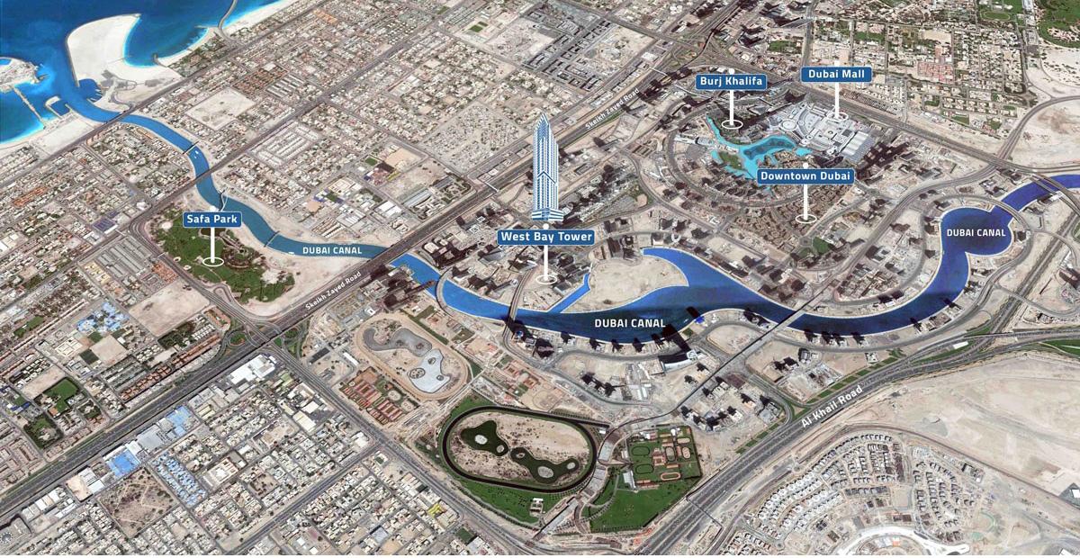 West-Bay-Tower Master Plan