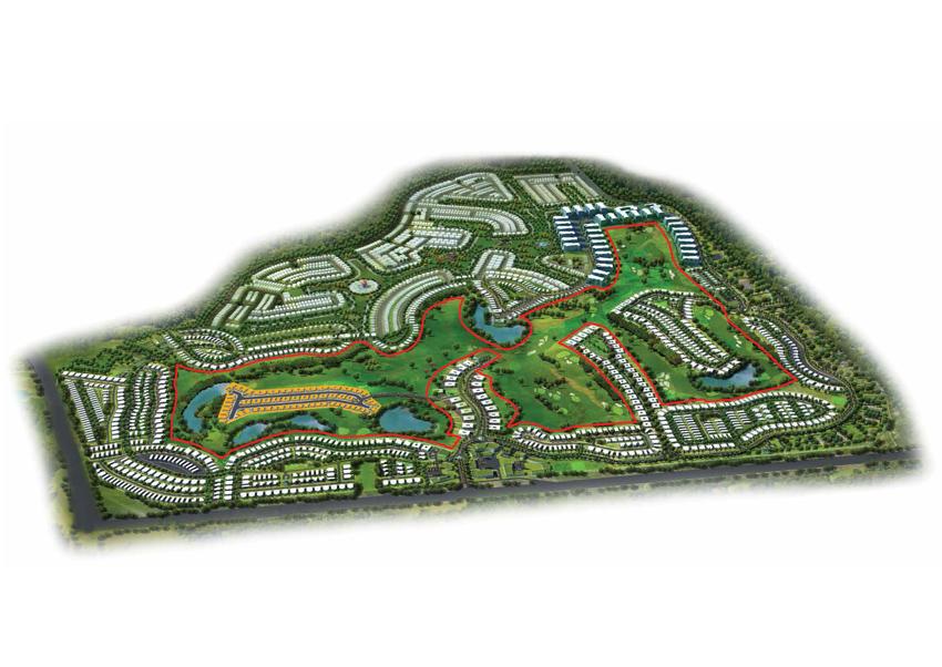 Akoya-Fendi-Styled-Villas Master Plan
