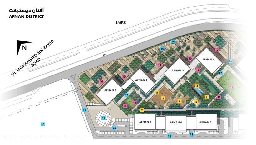 Afnan By Deyaar Properties At Dubai Production City Impz