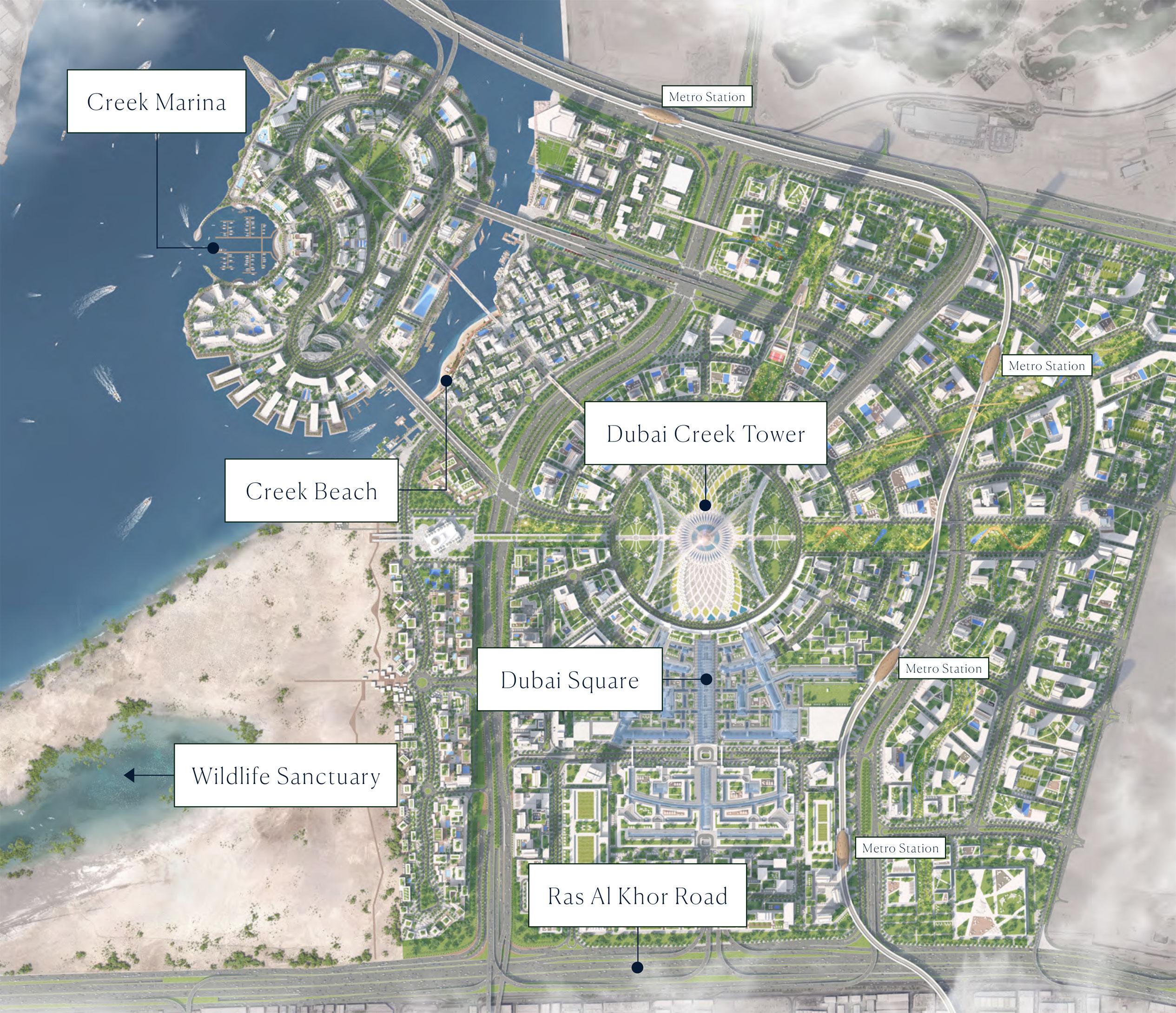 Creek-Marina Master Plan