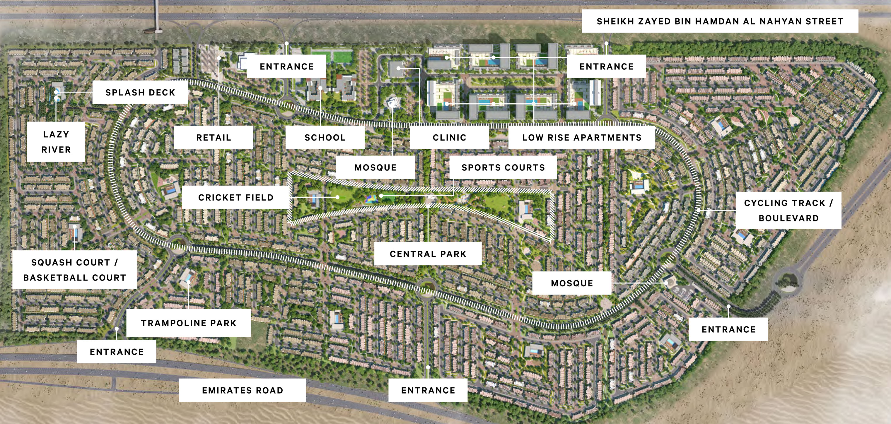 Ruba Townhouses Phase II -  Master Plan