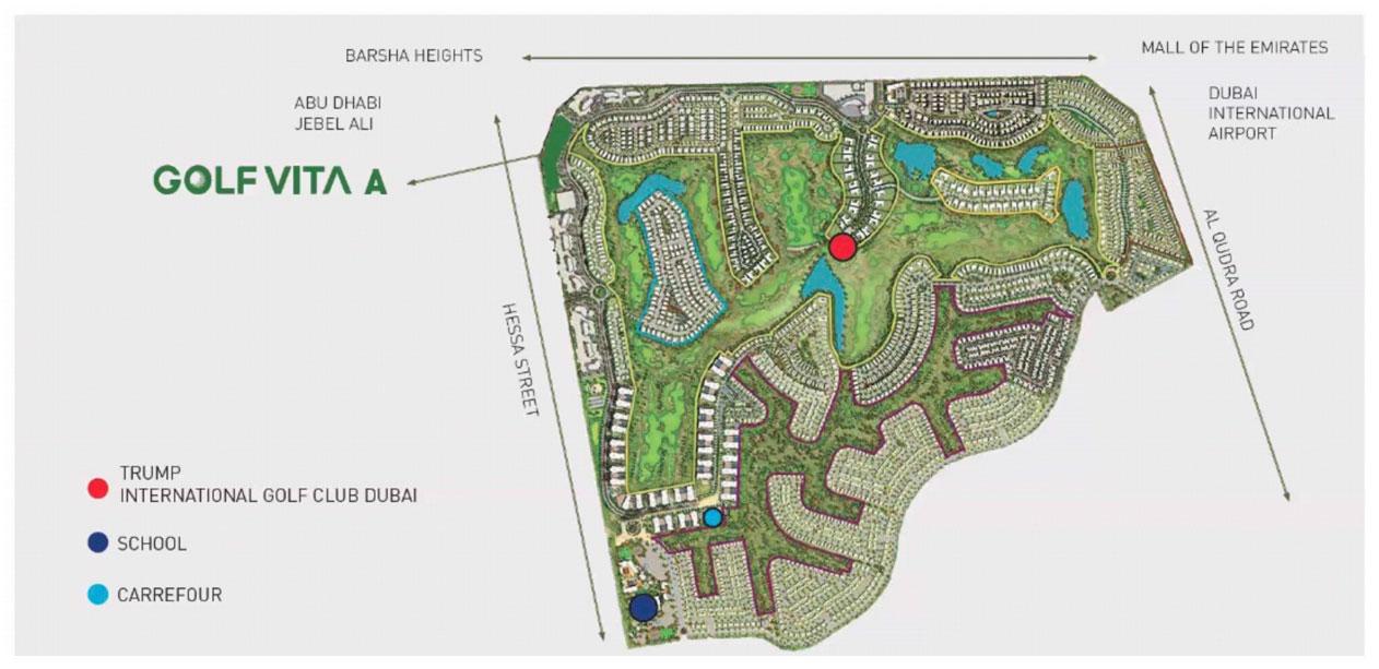 Golf-Vita-Apartments Master Plan