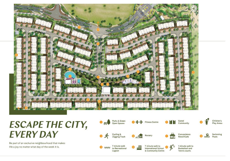 Elan Townhouses Phase 2 -  Master Plan
