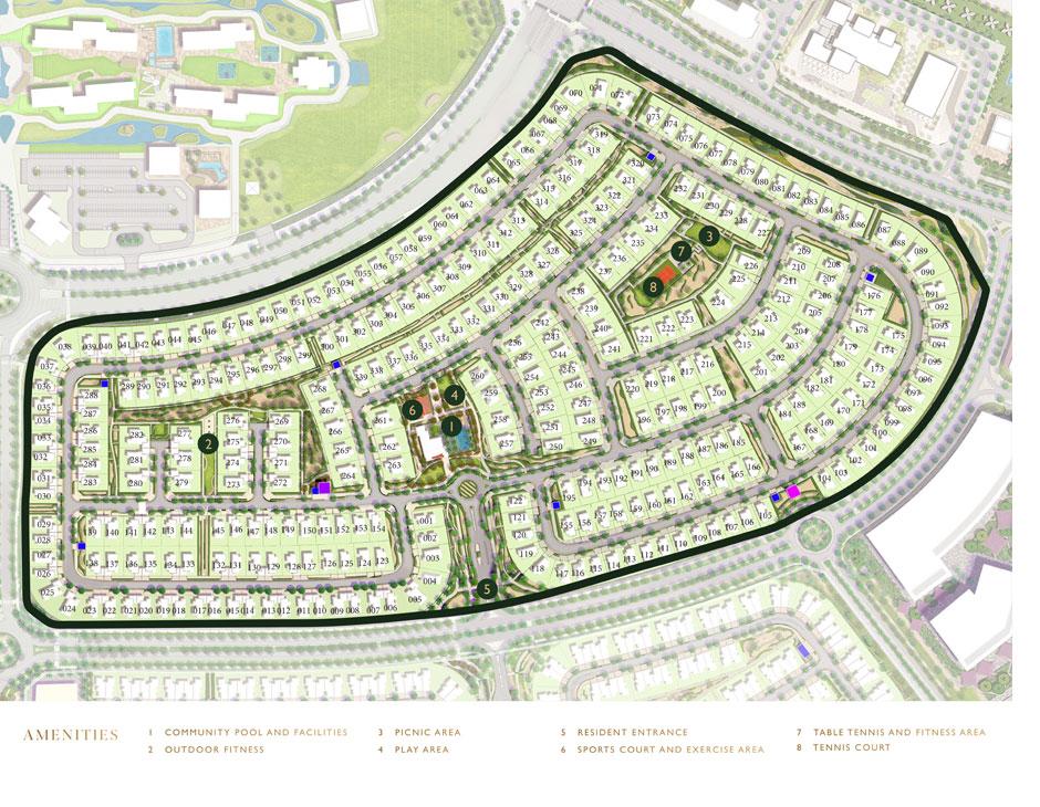 Sidra-3-Villas Master Plan