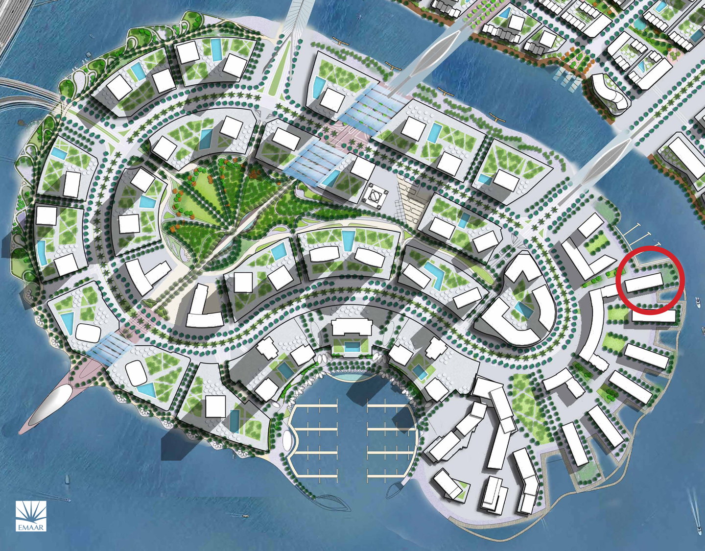The-Cove-Creek-Harbour Master Plan