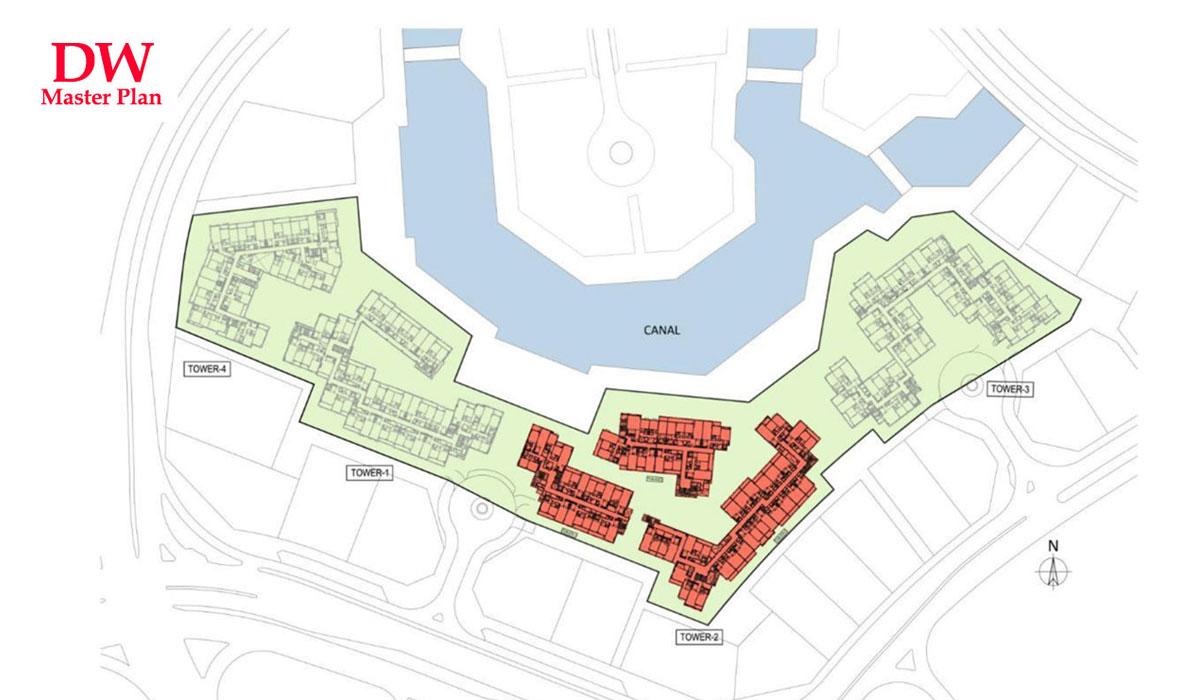 Dubai-Wharf Master Plan