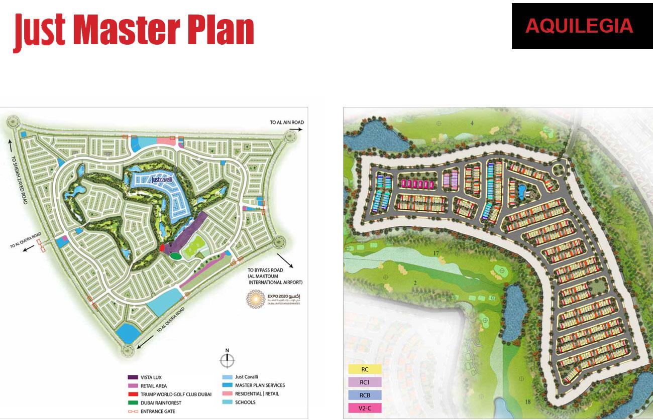 Just-Cavalli-Villas Master Plan