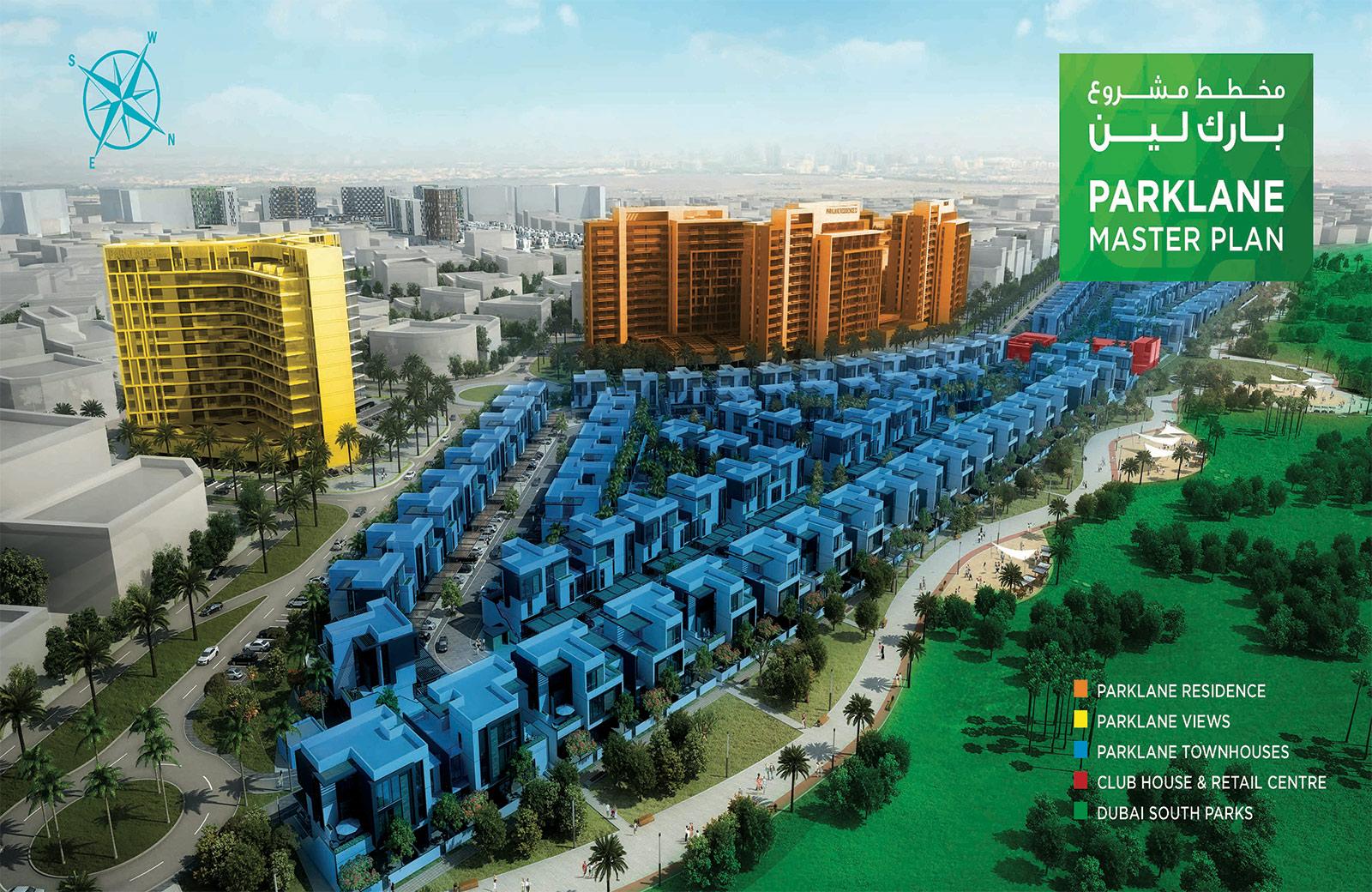 Parklane-Dubai-South Master Plan